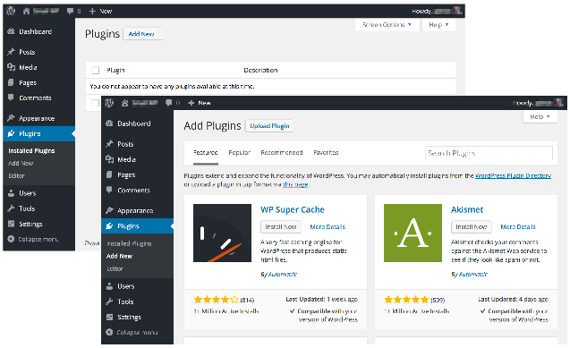 Search for CodeGuard WordPress Plugin